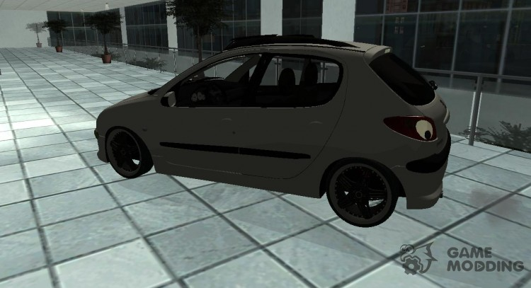 Peugeot 206 New for GTA San Andreas