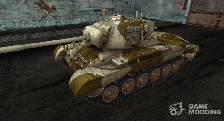 Skin for M46 Patton # 18 for World Of Tanks