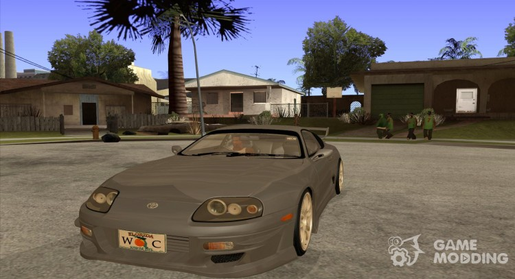 "Toyota Supra Rz ""The Bloody Pearl"" 1998 для GTA San Andreas"