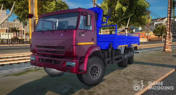 KamAZ-43118-3049-46 CMU ANT 22-2 LPcars for GTA San Andreas