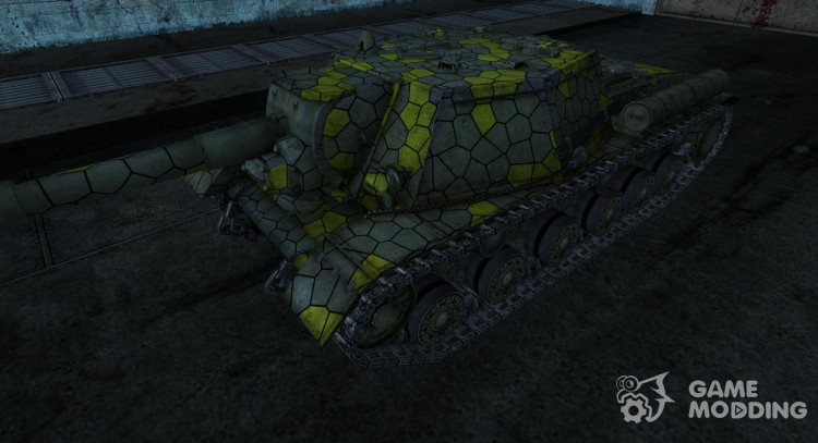 Skin for Su-152 for World Of Tanks