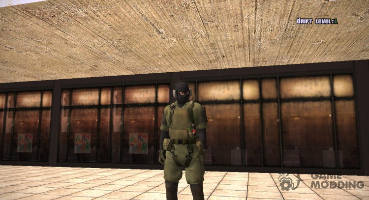 Mgsv Ground Zero Msf Soldier For Gta San Andreas