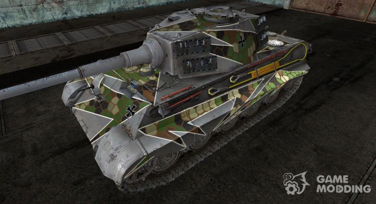 Panzer VIB Tiger II andruxa for World Of Tanks