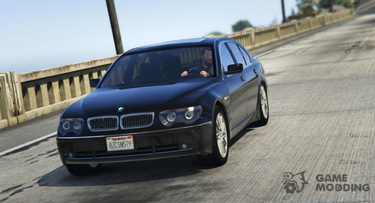 BMW 760i (e65) for GTA 5