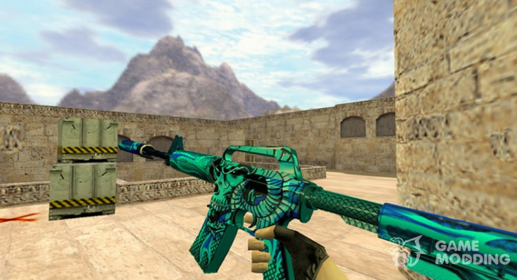 M4A1 Eske para Counter Strike 1.6