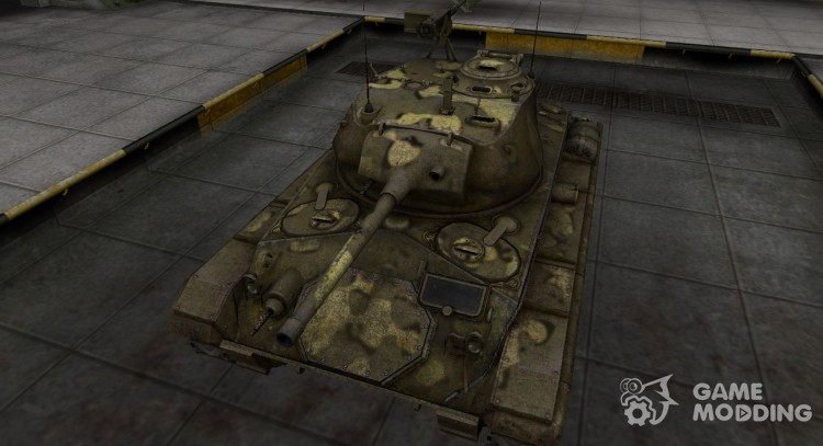 Simple skin M24 Chaffee for World Of Tanks