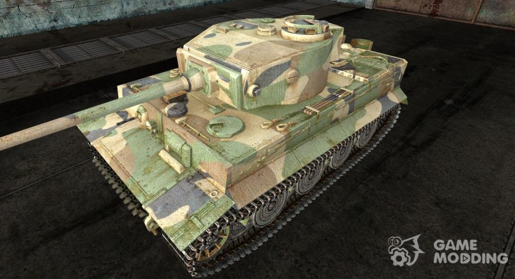 The Panzer VI Tiger 11 for World Of Tanks