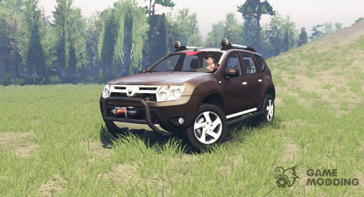 Dacia Duster for Spintires 2014