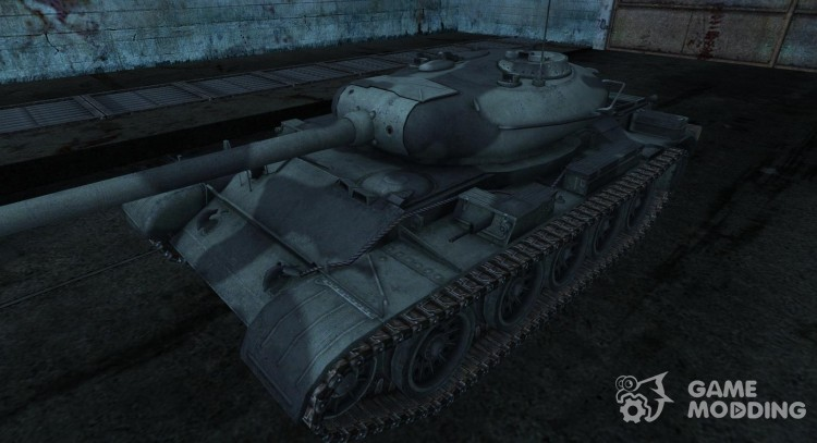 Skin for t-54 for World Of Tanks