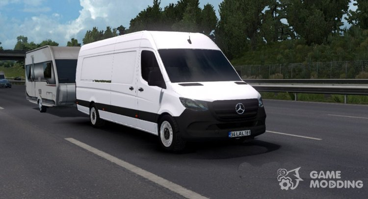 Mercedes-Benz Sprinter 2019 for Euro Truck Simulator 2