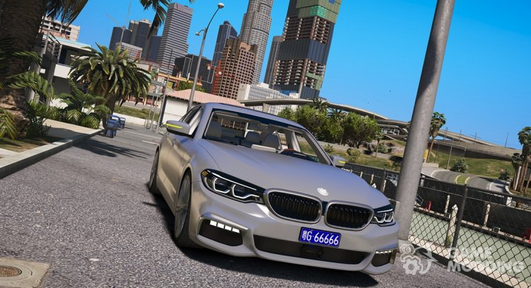 2018 BMW 540i G30 for GTA 5