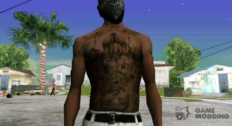 Zekovsky tattoos for GTA San Andreas