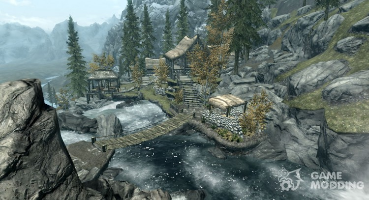 Coastal cottage for TES V: Skyrim