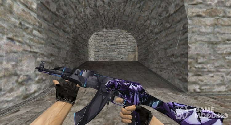 AK-47 Pantera for Counter Strike 1.6