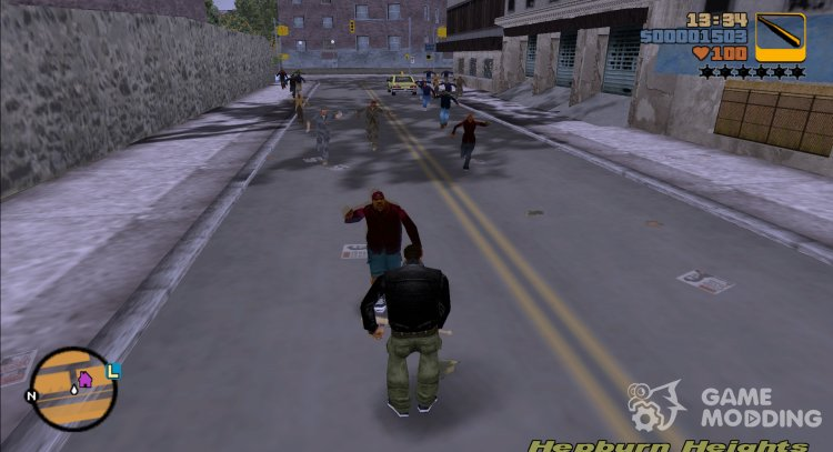 Zombies v1.2 for GTA 3