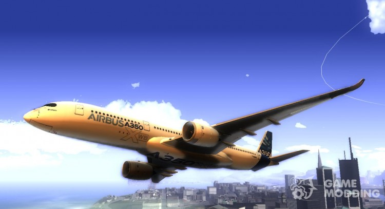 Airbus A350-941 XWB - Airbus House Colors для GTA San Andreas