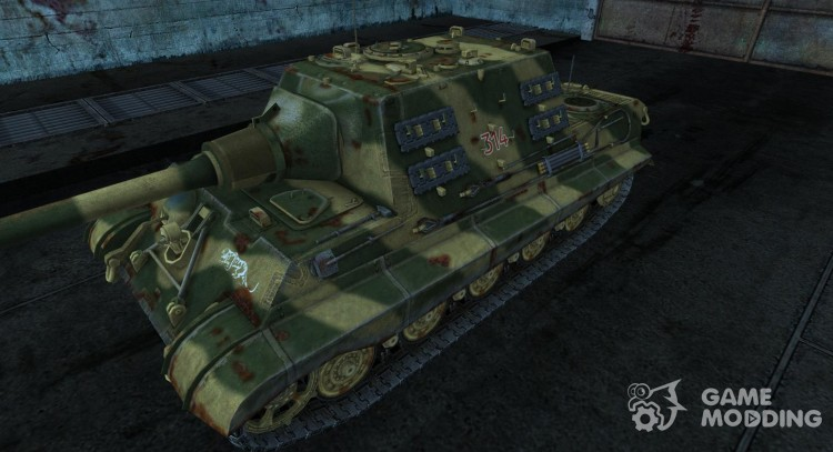 JagdTiger coldrabbit для World Of Tanks
