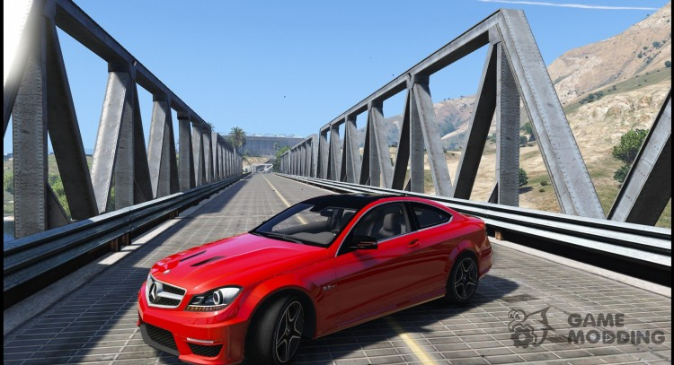 Mercedes-Benz C63 AMG W204 Coupe 1.0 для GTA 5