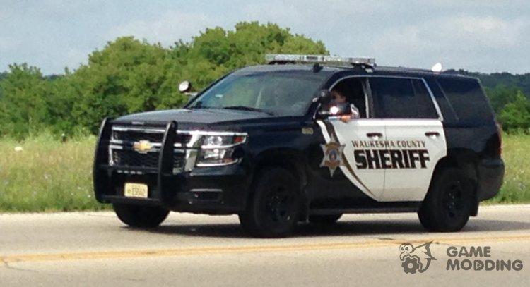 GTA V Sheriff SUV Siren V2 for GTA San Andreas