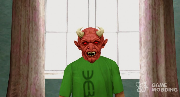 The hell mask v1 (GTA Online) for GTA San Andreas