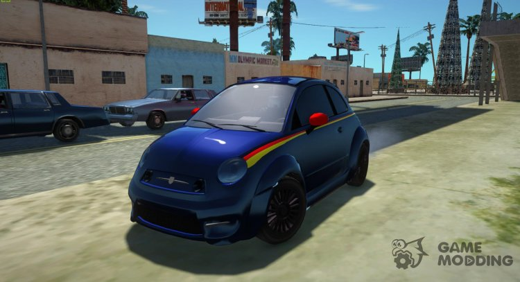 Abarth Fiat 500 for GTA San Andreas