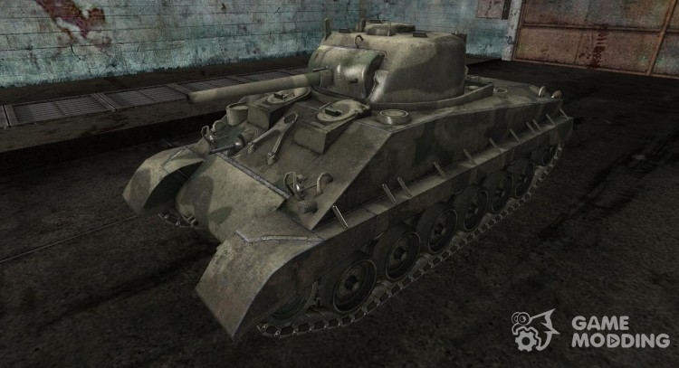 Skin for M4A2E4 # 5 for World Of Tanks