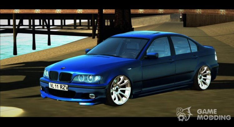 BMW E46 320d M-Tech 2 LOW for GTA San Andreas