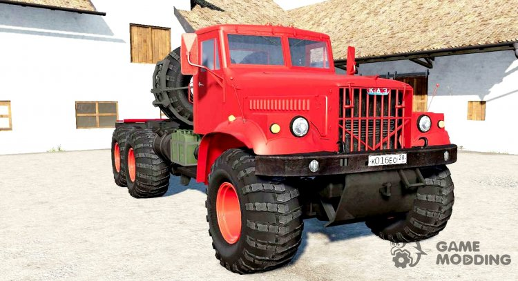 KrAZ-258B for Farming Simulator 2017