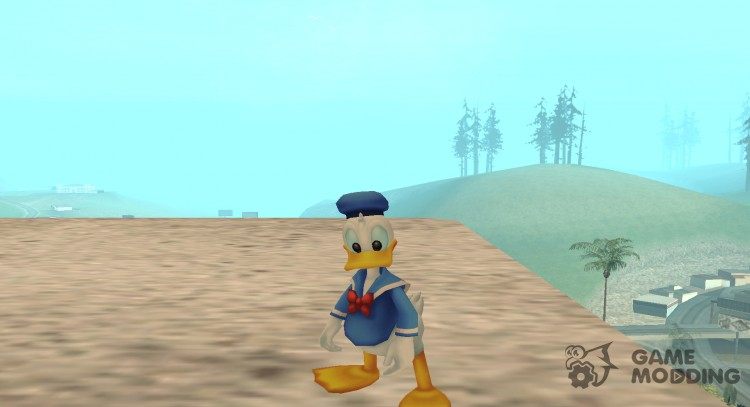 Donald Duck for GTA San Andreas