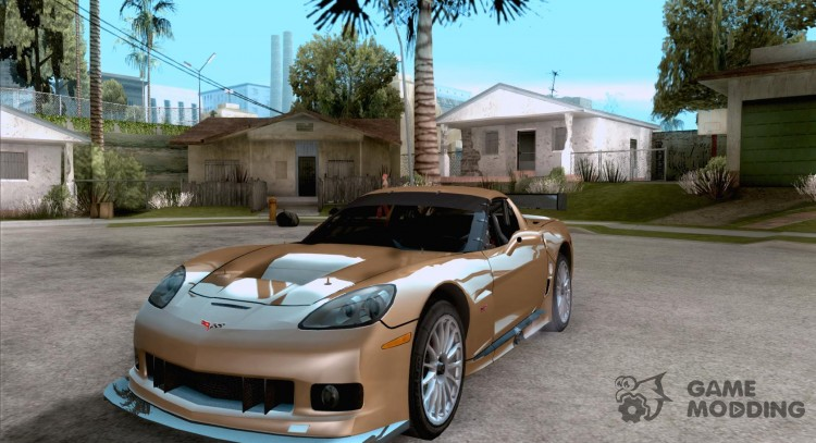 Chevrolet Corvette C6r For Gta San Andreas