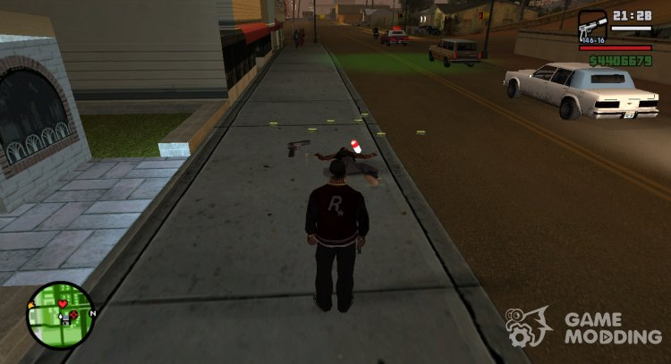 Dealers carry drugs for GTA San Andreas