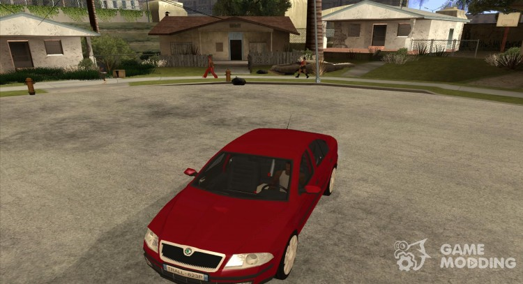 Skoda Octavia II. 2005 for GTA San Andreas
