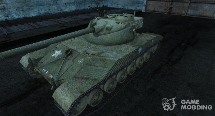Skin for Bat Chatillon 25t No. 19 for World Of Tanks