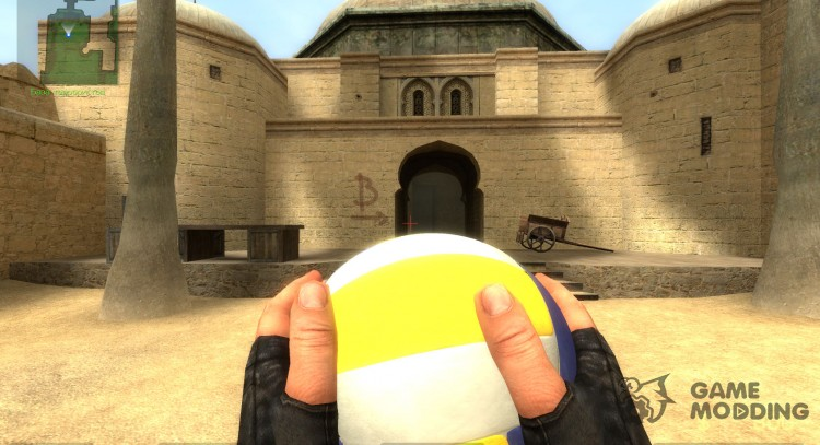 Volleyball HE Grenade for Counter-Strike Source