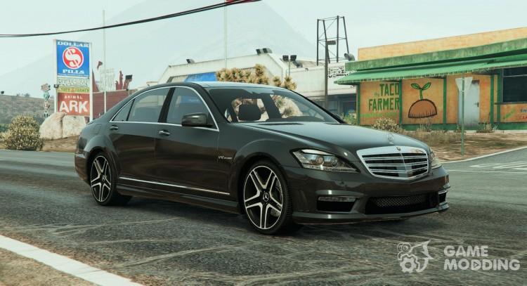 Mercedes-Benz S65 AMG 2012 0.9 for GTA 5