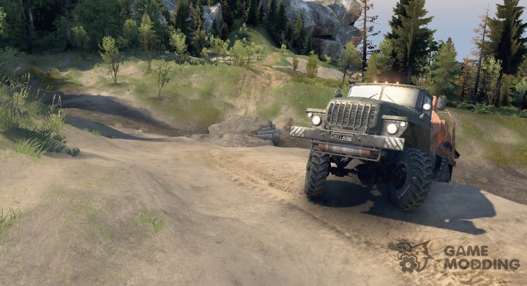 No Fog. Always The Sun for Spintires 2014