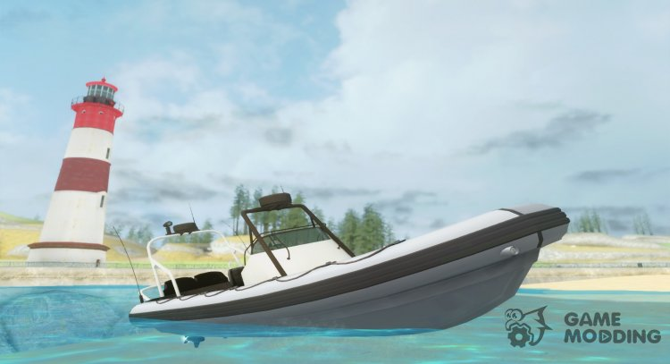 GTA V Nagasaki Dinghy (Only vehfuncs) for GTA San Andreas