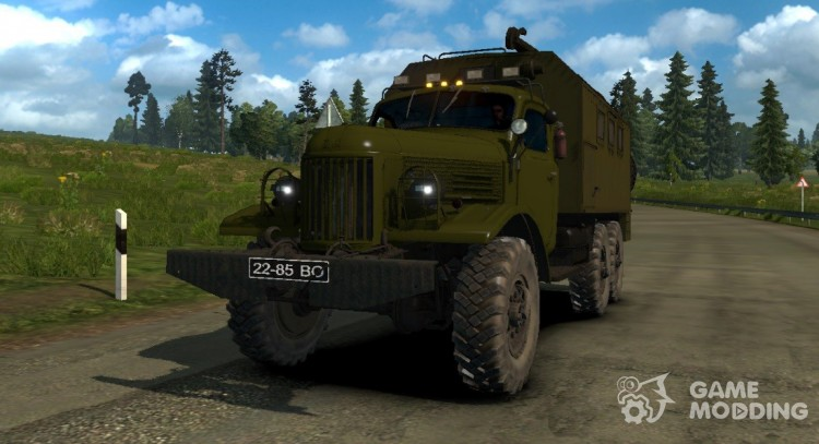 ZIL 157 for Euro Truck Simulator 2