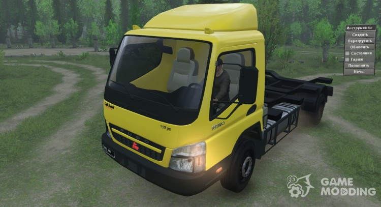 Mitsubishi Fuso Canter for Spintires 2014