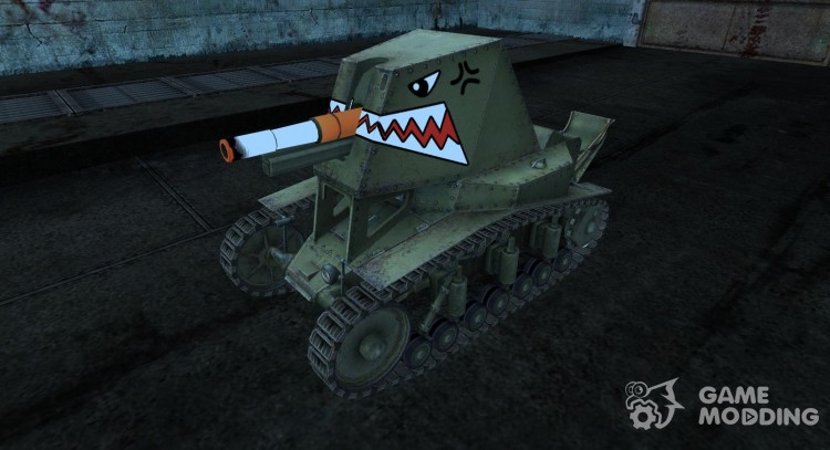 Skin for Su-18 for World Of Tanks