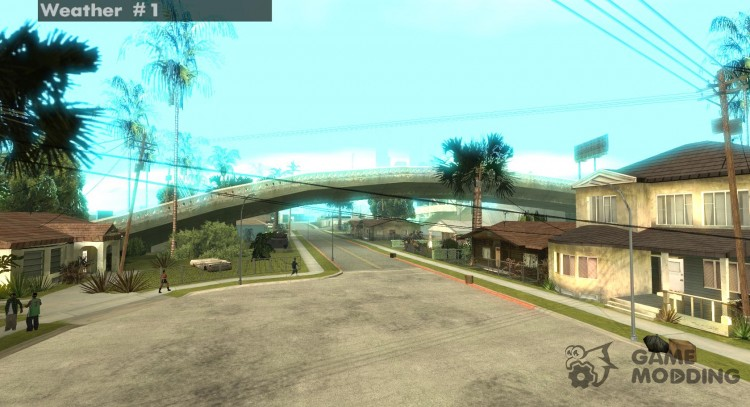Color Correction для GTA San Andreas