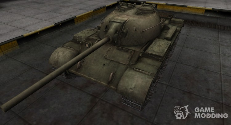 Emery cloth for Chinese tank T-34-2 for World Of Tanks