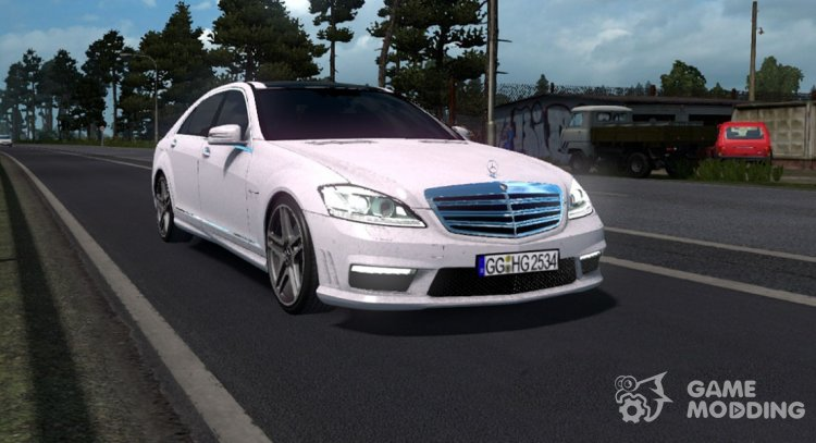 Mercedes-Benz S65 AMG for Euro Truck Simulator 2