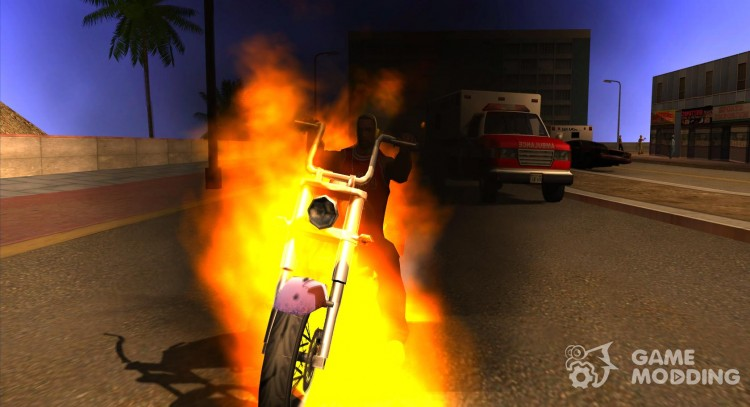 Ghost Rider for GTA San Andreas