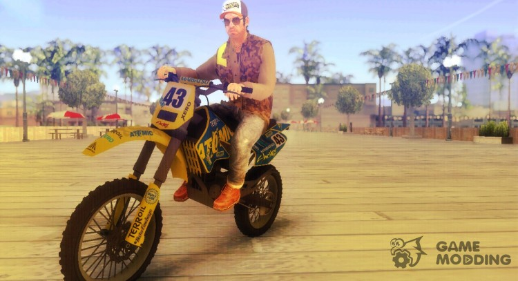 GTA V Atomic Sanchez for GTA San Andreas