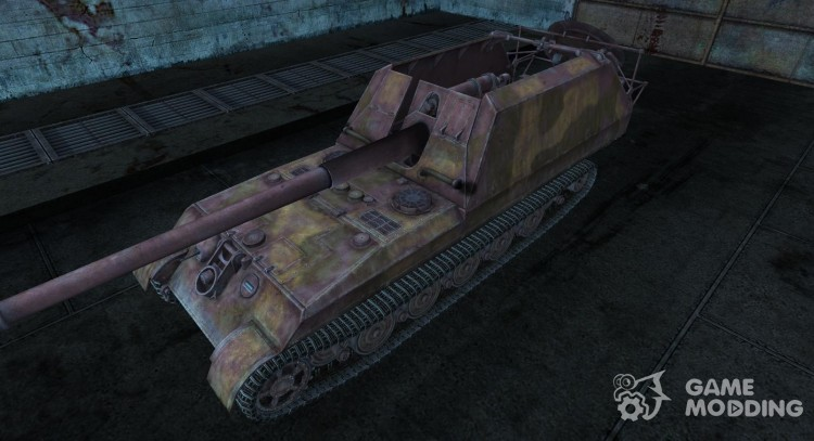 Skin for Gw-Tiger for World Of Tanks