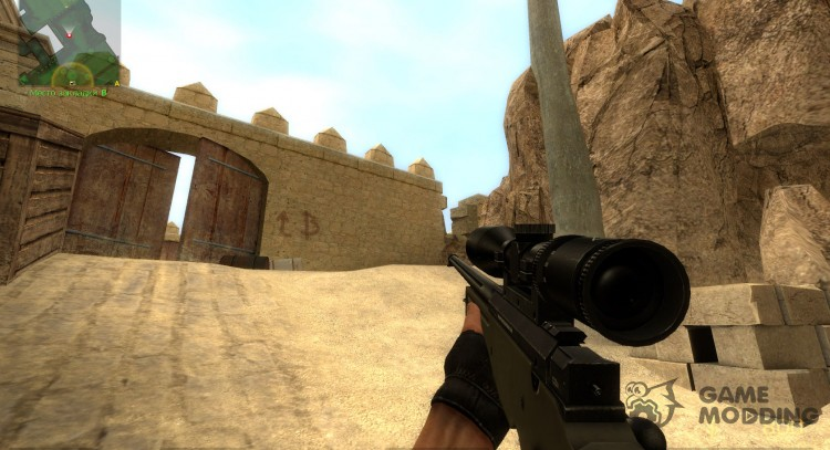 338. Cal L96A1 для Counter-Strike Source