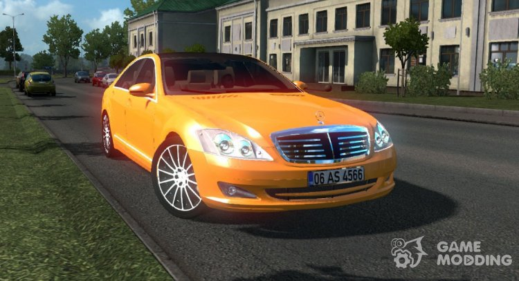 Mercedes-Benz S350 for Euro Truck Simulator 2