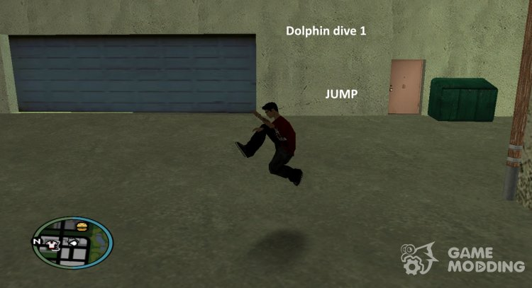 Jumping Actions for GTA San Andreas