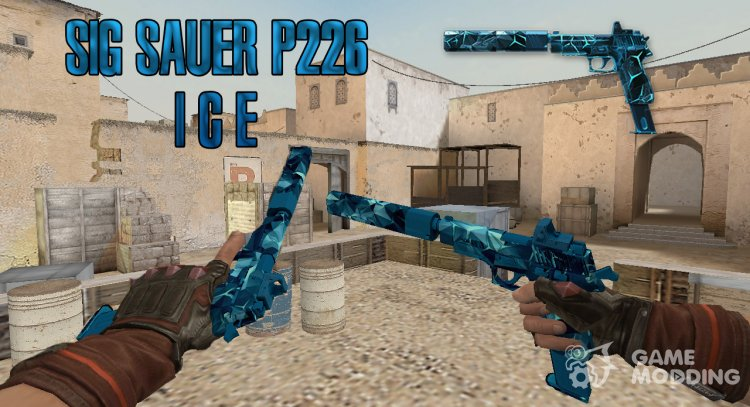WarFace SIG Sauer P226 C Frost for Counter Strike 1.6